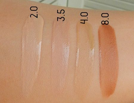 Naked Skin: Weightless Liquid Foundation by Urban Decay #14
