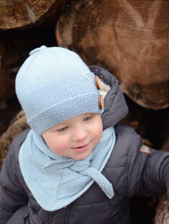 Merino Wool Girls Hat White Spring Hat for Toddler Girls Spring Hat for Kids Slouchy beanie Baby Girl Pompon Hat Hand Knit Child Beanie