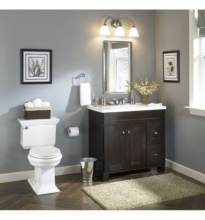 shop allen roth palencia espresso contemporary bathroom vanity at rh br pinterest com