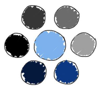 Mode Farbe Hellblau Wie Sie Hellblau Kombinieren In 2020 Hellblau Blau Pullover Blau