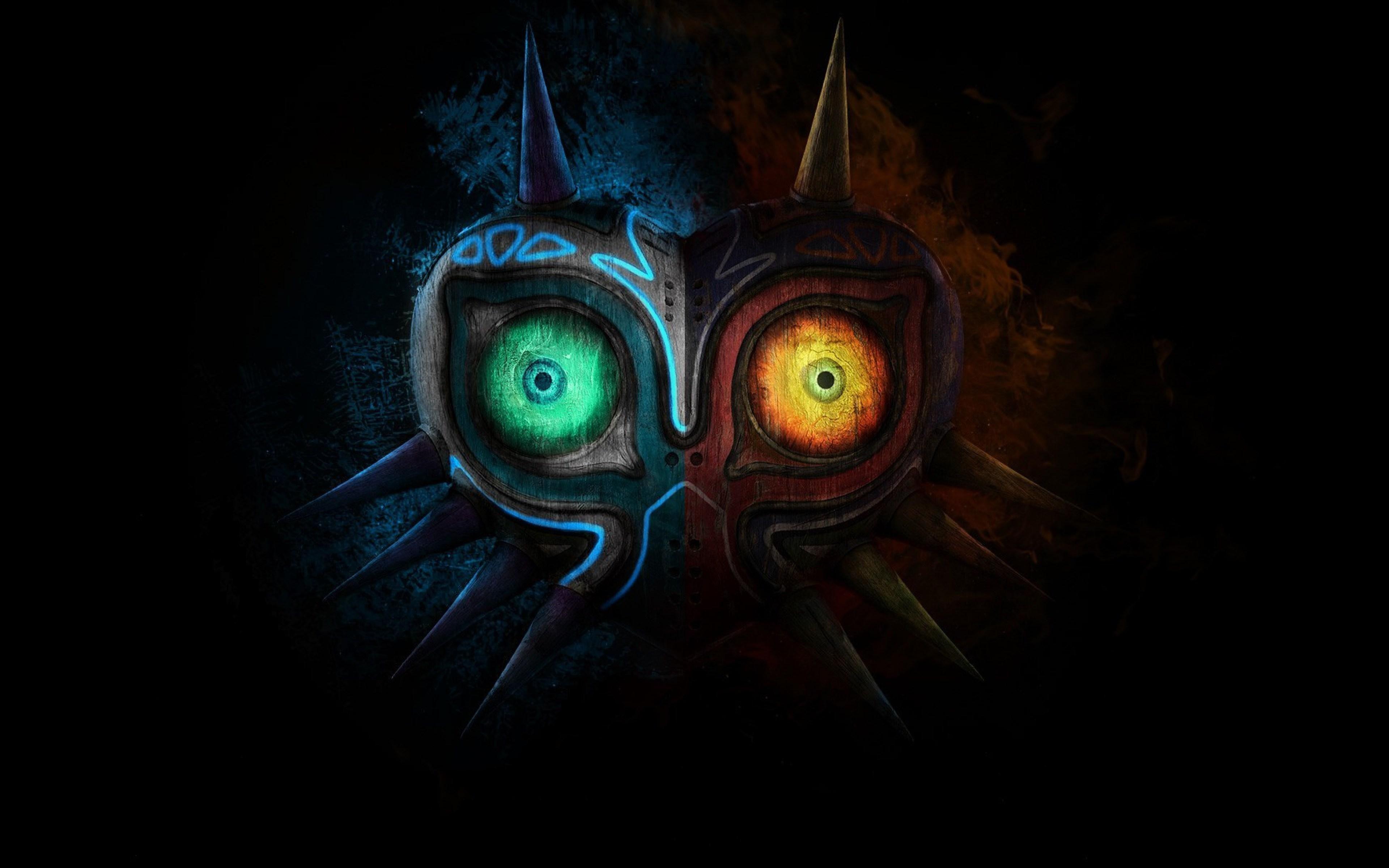 Gamer Wallpaper 4k 98533 Zelda Art Majoras Mask Art Legend Of Zelda