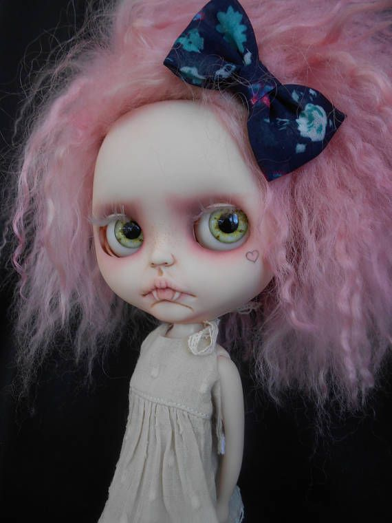 Fashion, Character, Play Dolls Sabrina The Witch Custom Blythe Doll