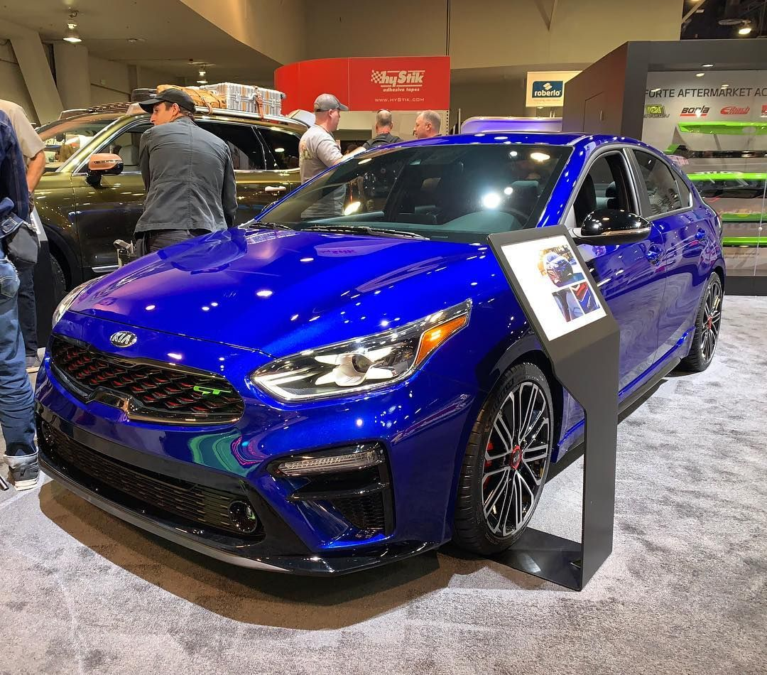 The 2020 Kia Forte GT packs 201 turbocharged horsepower