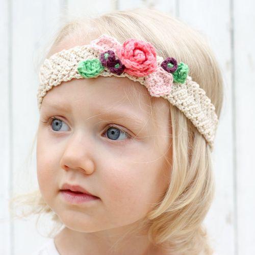 Free Crochet Flower Headband Pattern Crochet Pinterest Crochet