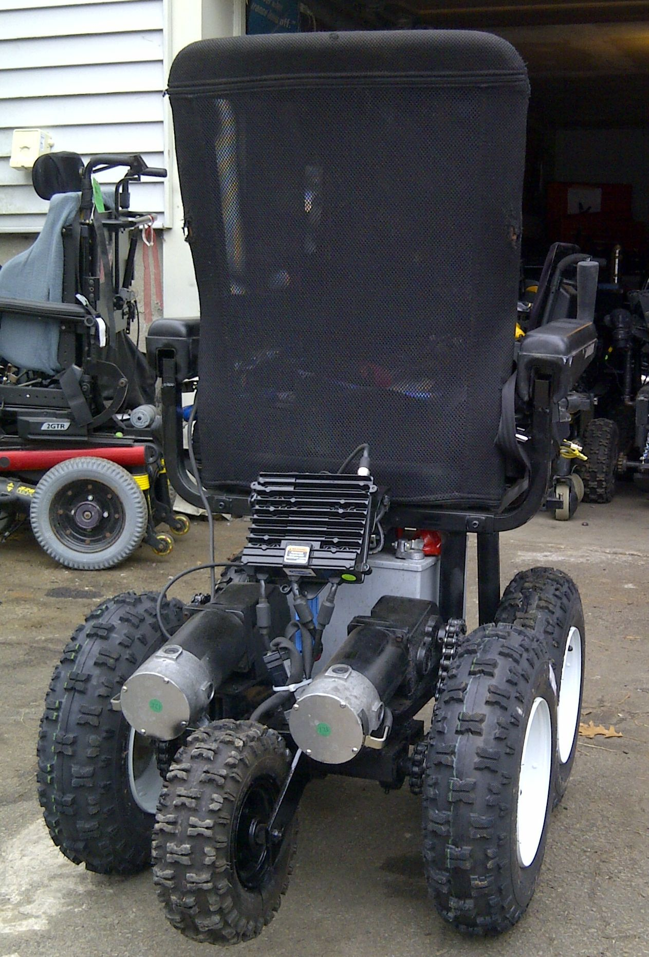4x4 Wheelchair Built By The Wheelchairconversions Com