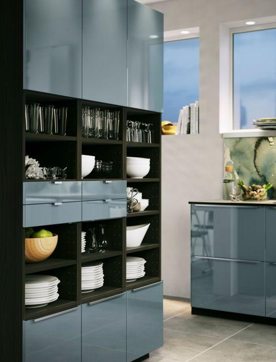 Kitchen Room Design, Green Kitchen
