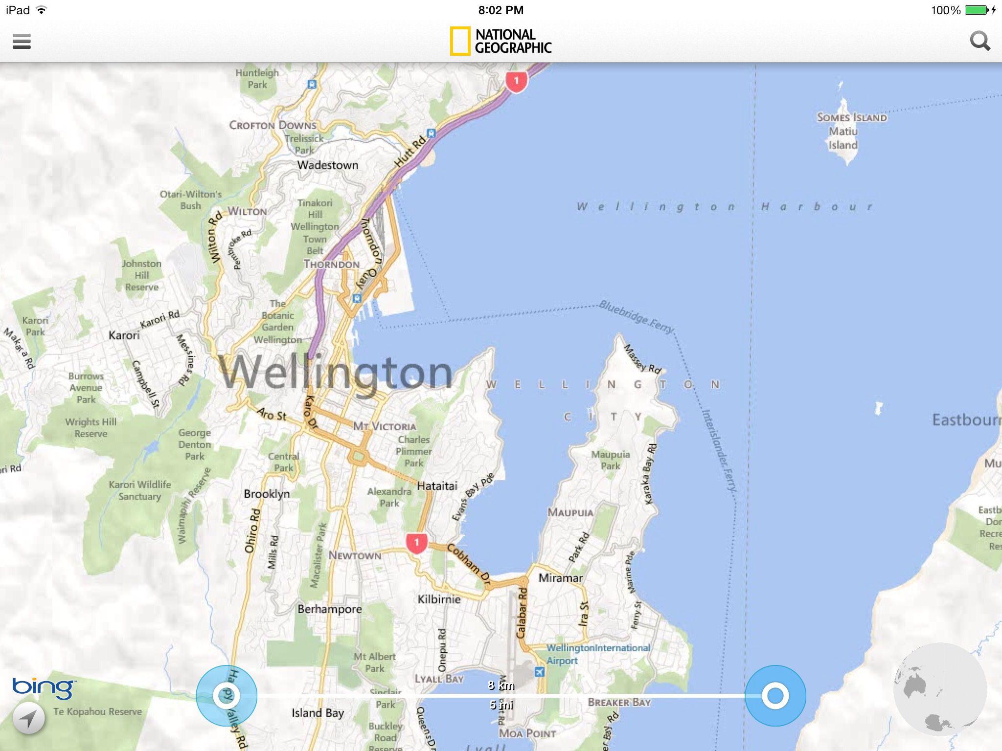 Map of Wellington New Zealand New Zealand Pinterest