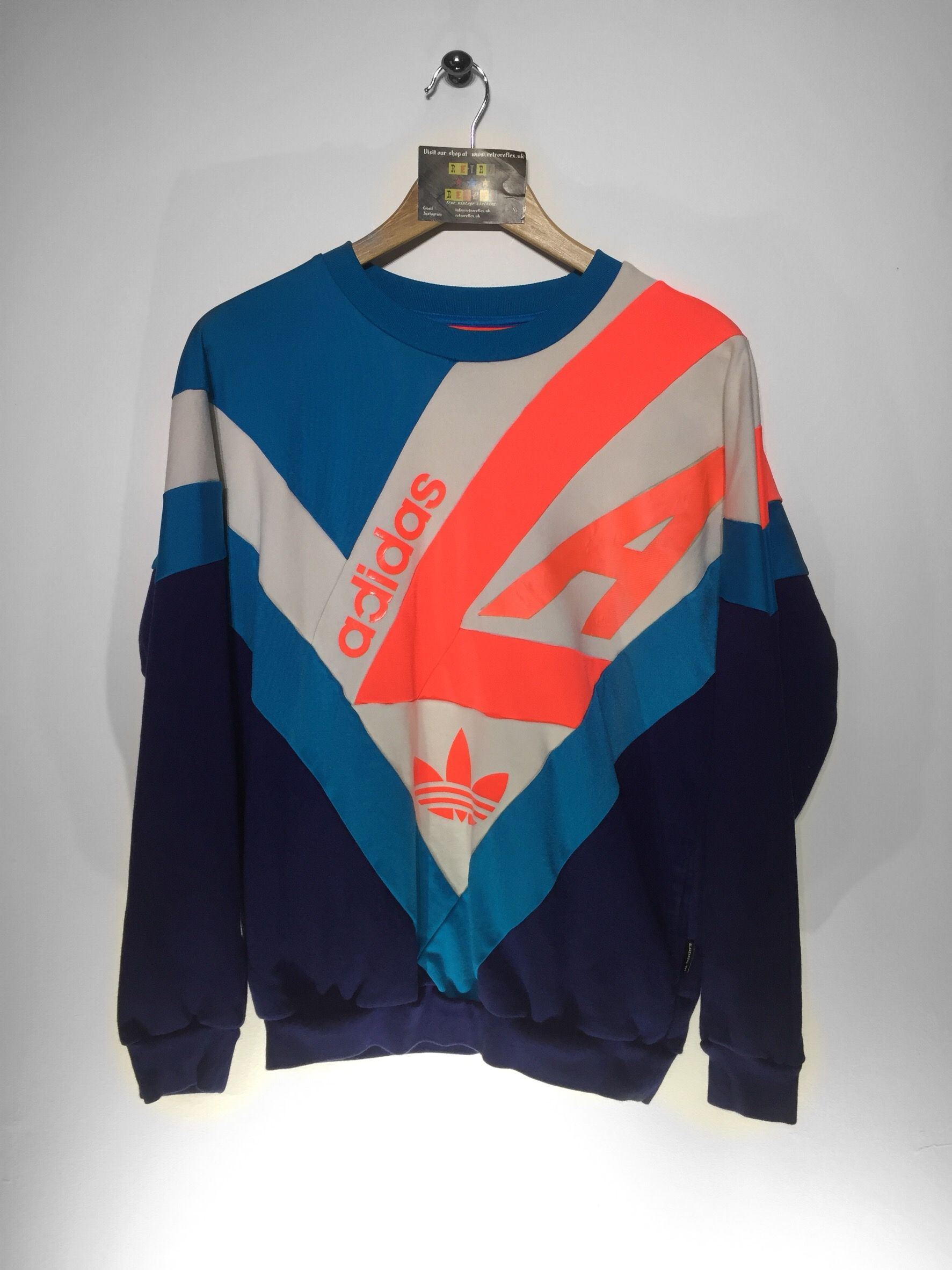 Adidas sweatshirt Size Small £36 Website➡️ retroreflex