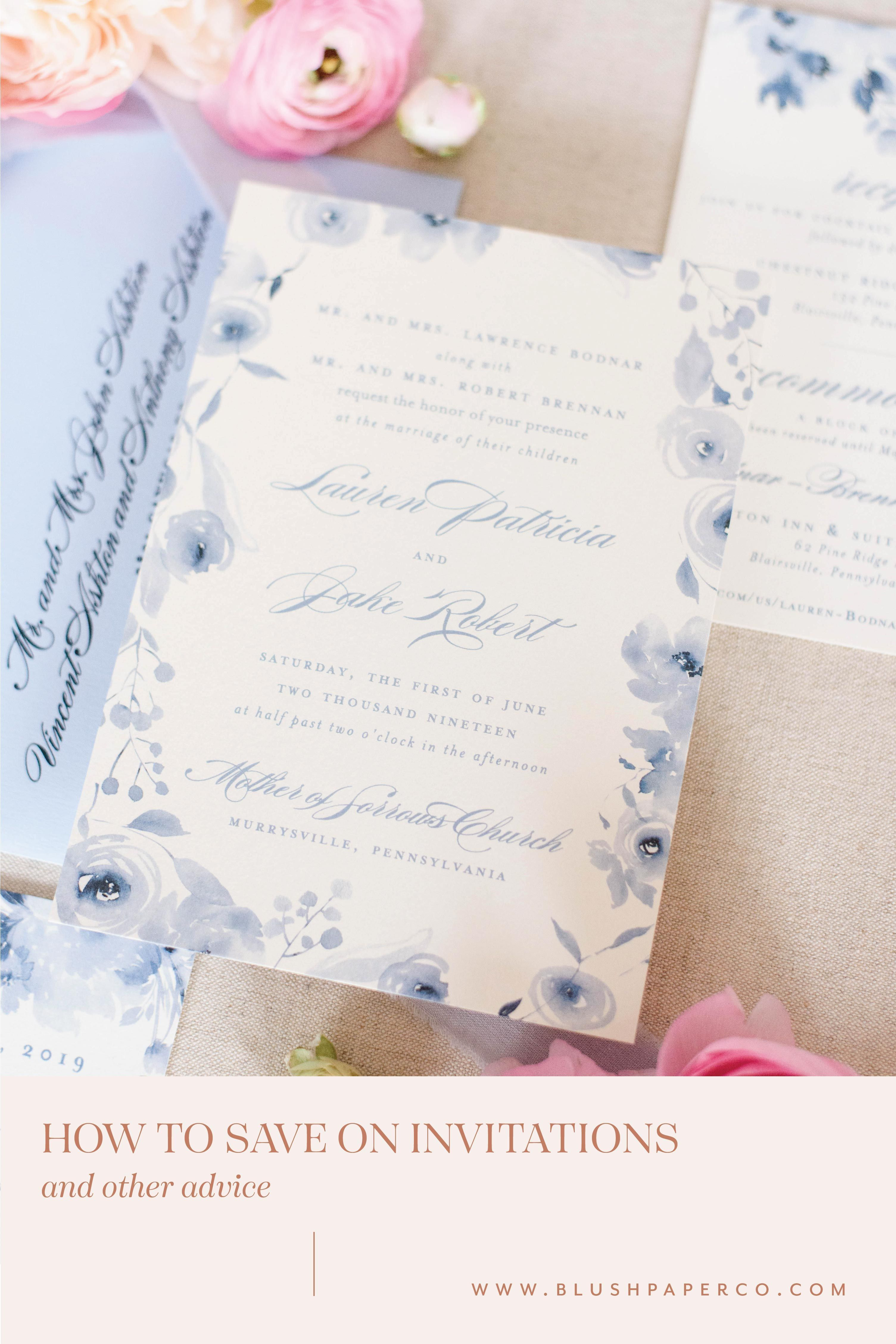 How To Make The Most Of Your Wedding Invitation Budget In 2020 Wedding Invitation Etiquette Wedding Invitations Budget Wedding Invitations