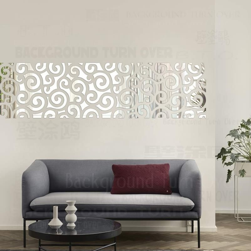 Wall Mirrors Sticker Decal Mural, Wall Decor Mirror Stickers