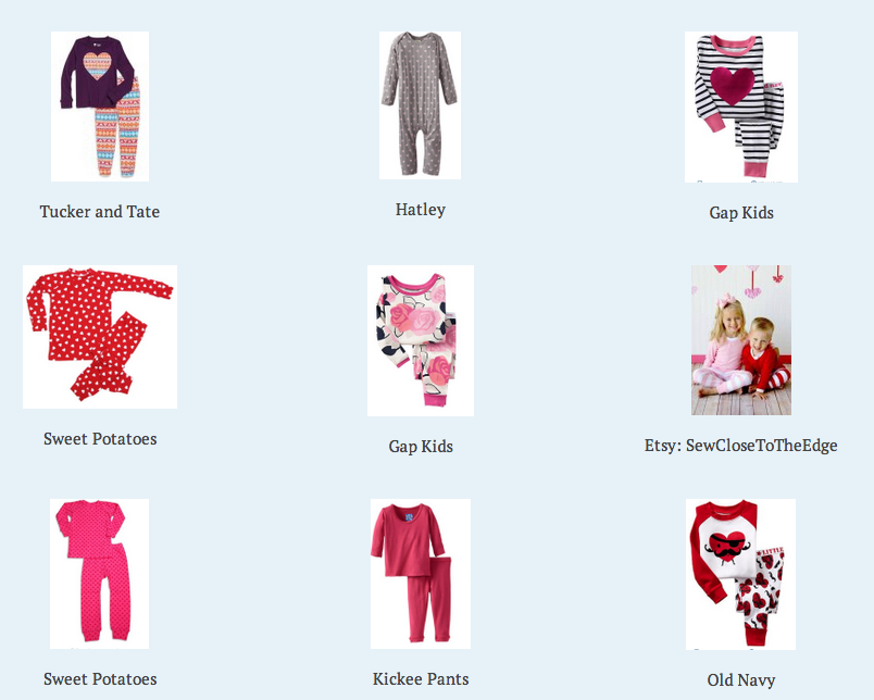 Valentineu0027s Day PJS For Toddlers Valentineu0027s Day Traditions V Day Pajamas  ...