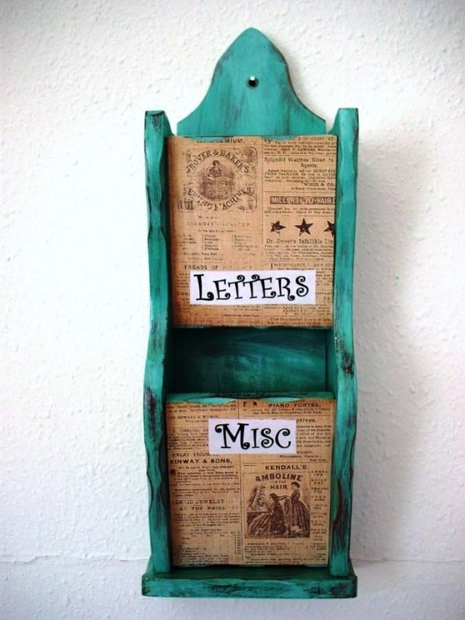 10 Beautiful Wall Mount Letter Holders for