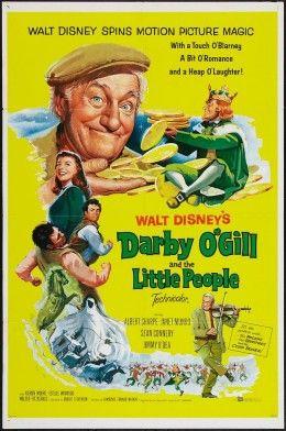 Darby O Gill Y El Rey De Los Duendes 1959 Hd Clasicofilm Cine Online Disney Movie Posters Classic Disney Movies Disney Films