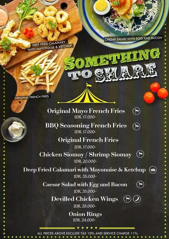 menu design for kirkos bar resto surabaya east java indonesia rh pinterest com