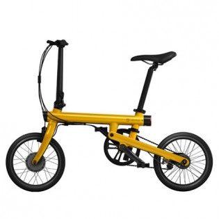 Xiaomi Mijia Qicycle Folding Electric Bike Yellow Bike Folding