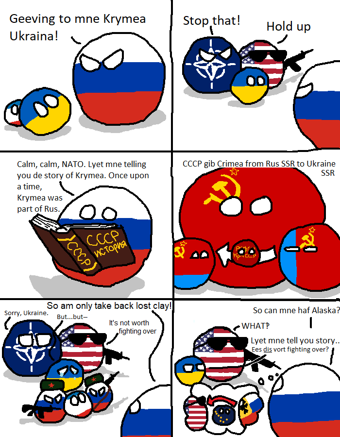 The Cold War In A Nutshell Polandball