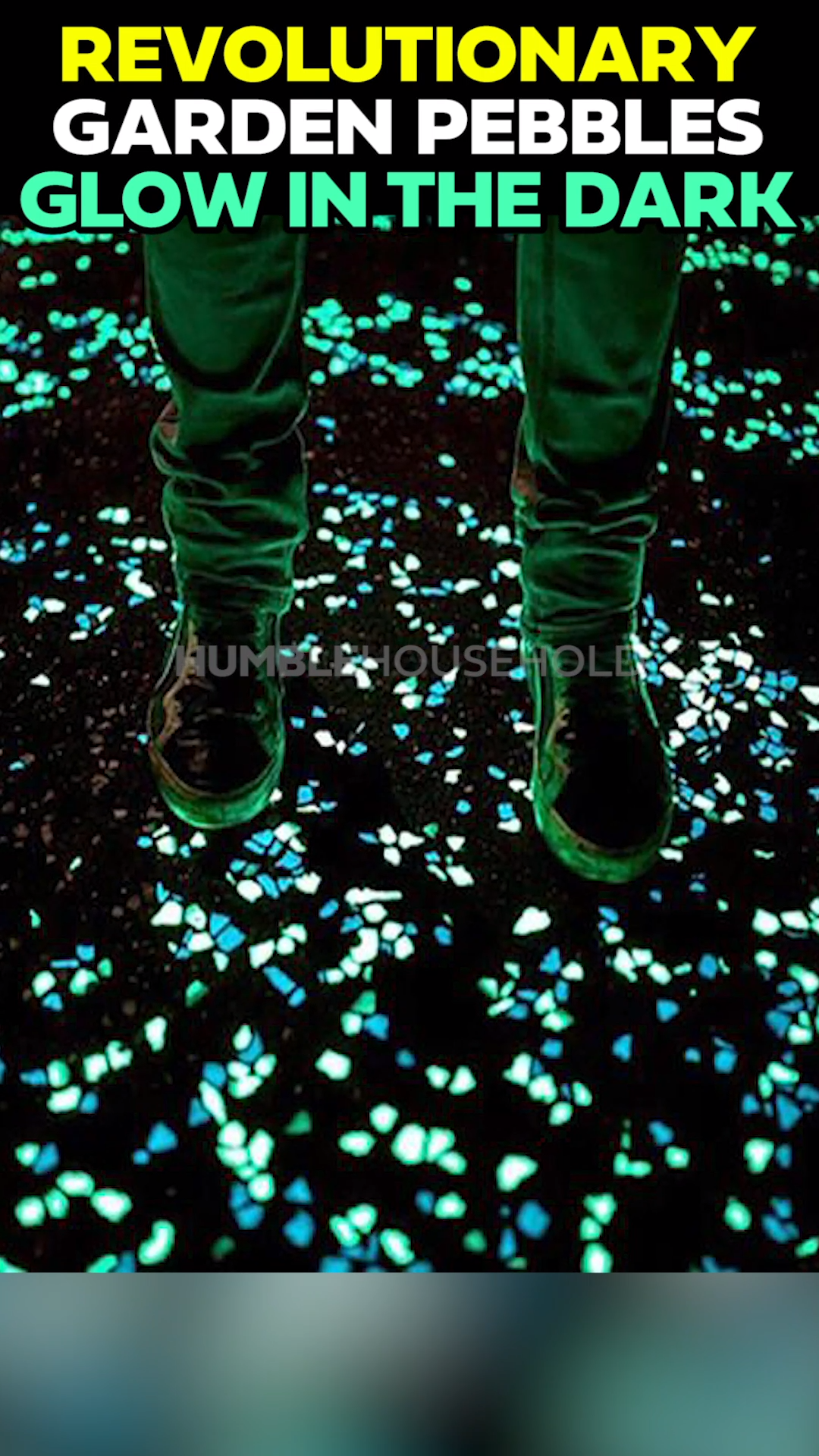 Photo of Luminous Pebbles glow in the dark and require no power!