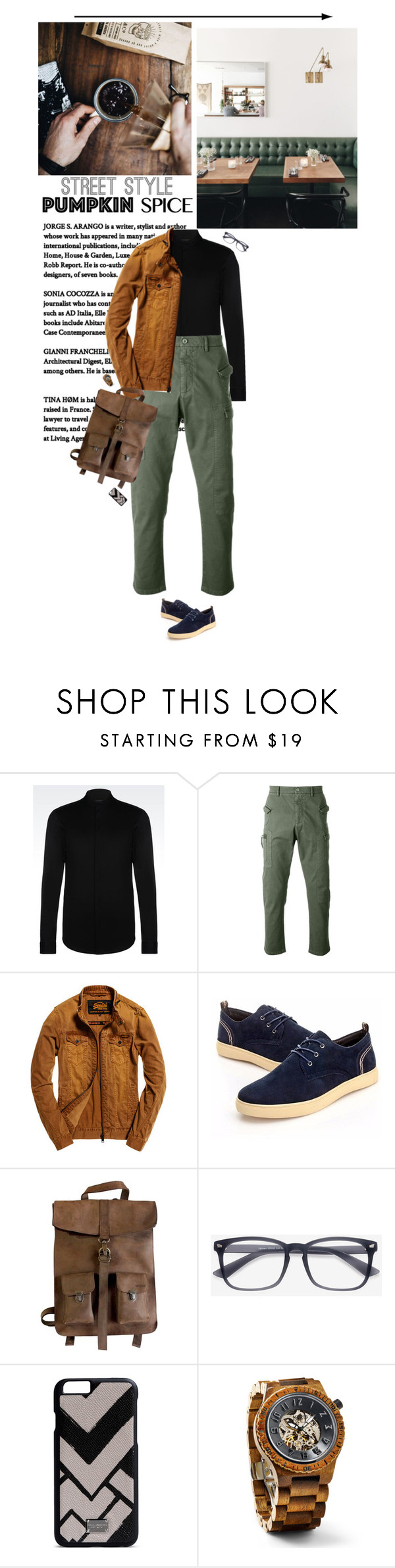 """""""He"""" by miss-milika ❤ liked on Polyvore featuring Emporio Armani, N°21, Superdry, Kjøre Project, Dolce&Gabbana, men's fashion and menswear"""