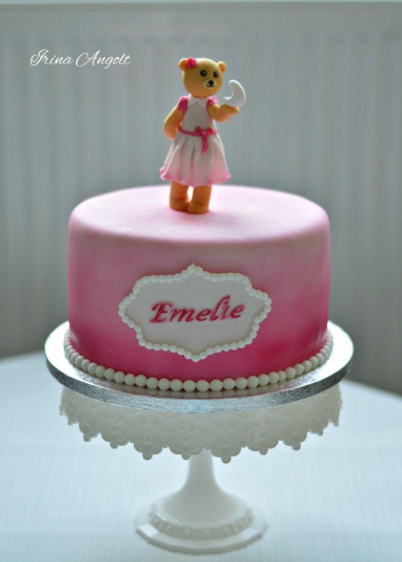Cake rosa Bär Mond