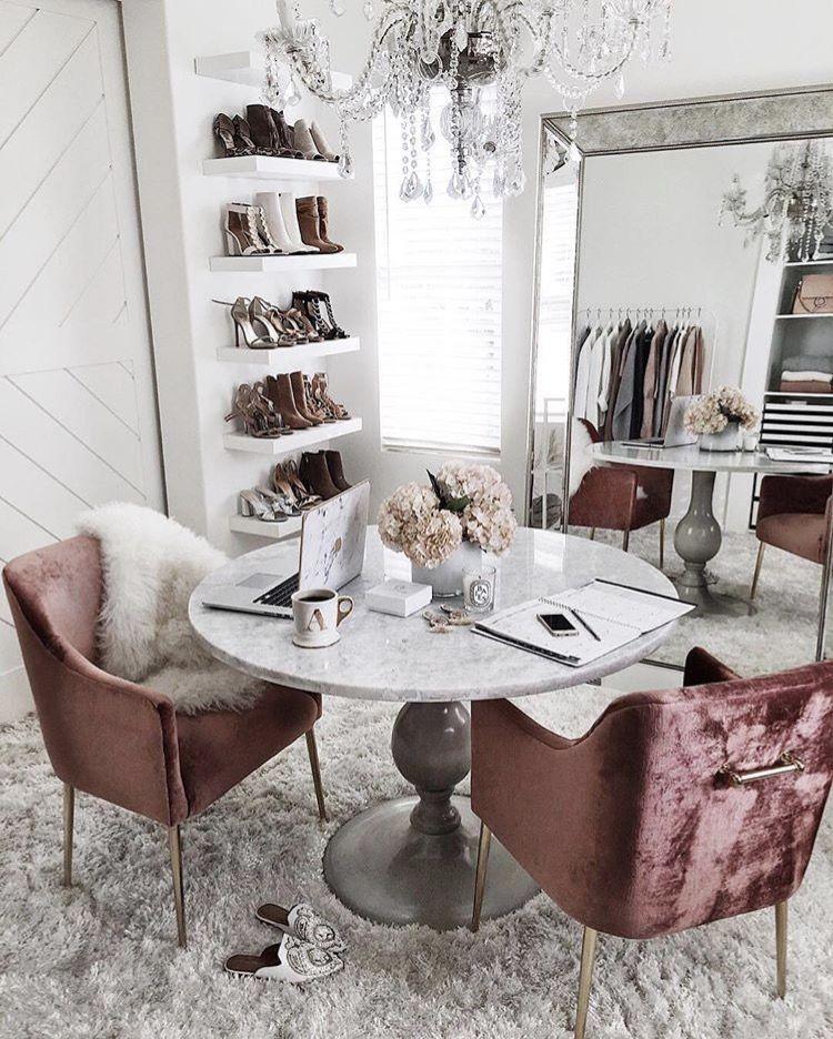 33 tiny yet functional home office designs modern office design rh pinterest com