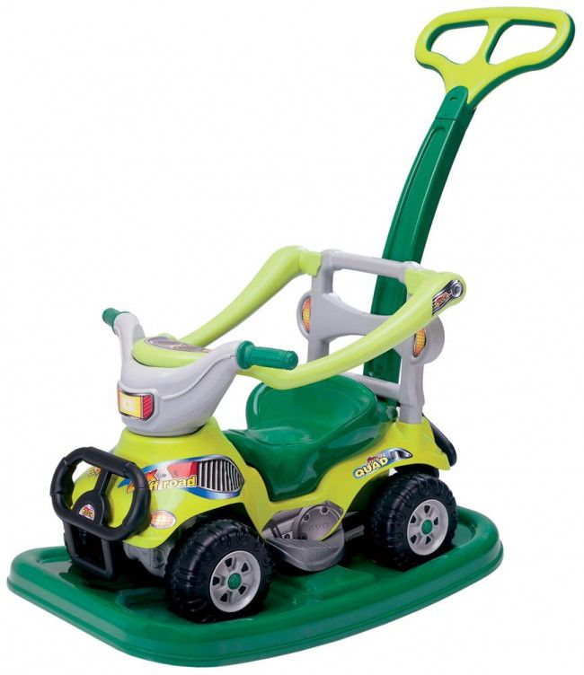 4340dfebc0c7 Porteur quad évolutif vert - Jouets Bébé  44,99€   Maxi Toys