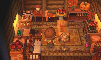 i'll come inside once october's over Animal crossing