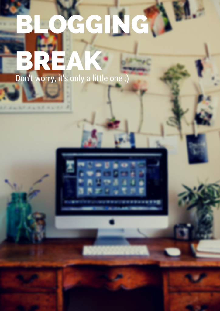 A Small Break From Blogging (Fashion Food Fun Forever)  #blogging #break #fashion #work #desk #mac