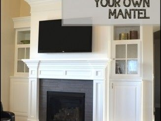 wainscoting fireplace mantels - Google Search