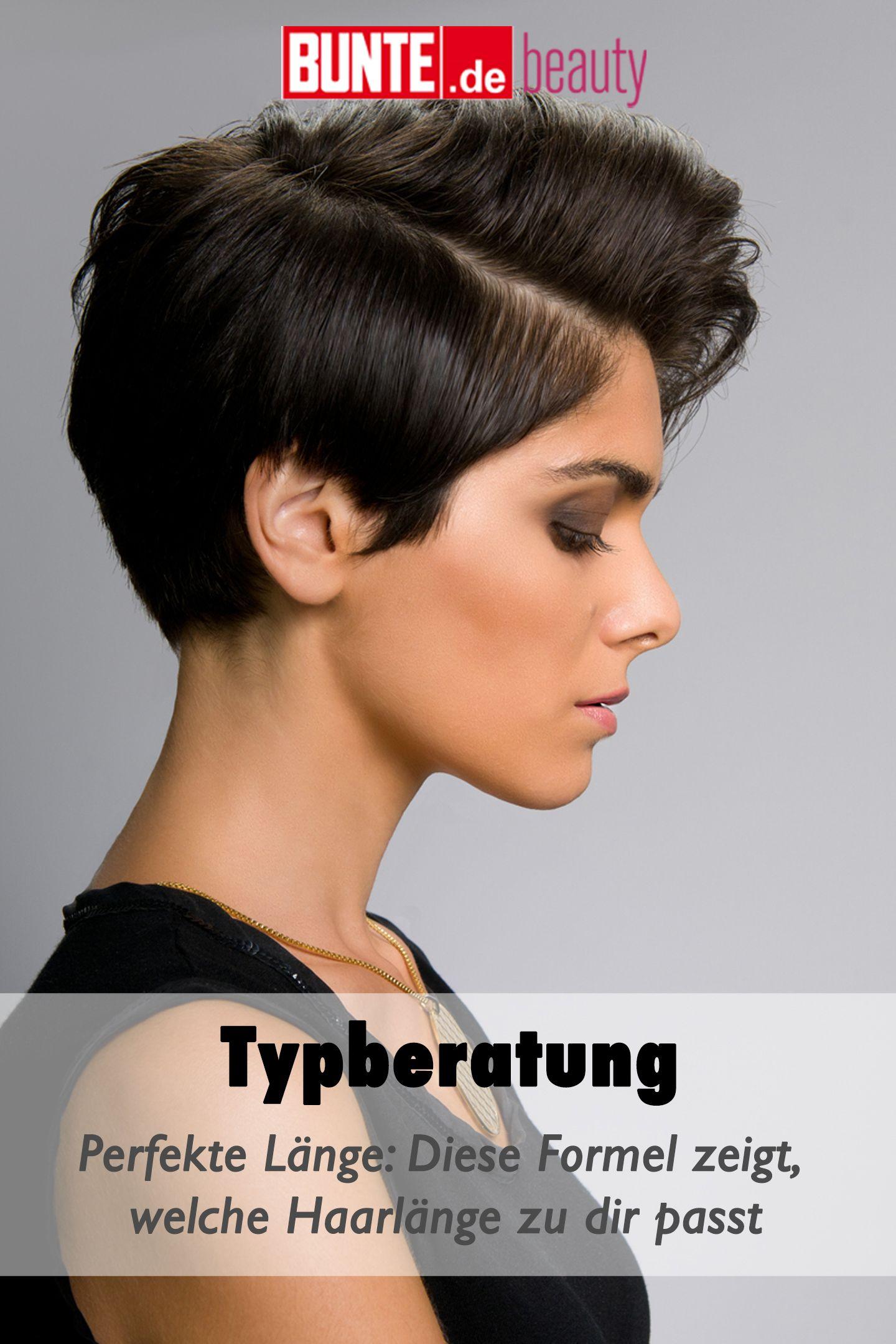 Typberatung Perfekte Lange Diese Formel Zeigt Welche Haarlange Zu Dir Passt Haarlange Stehen Mir Kurze Haare Gelbstich Haare