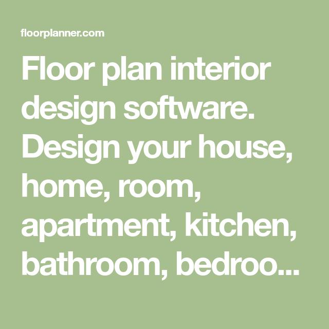floor plan interior design software design your house home room rh pinterest com