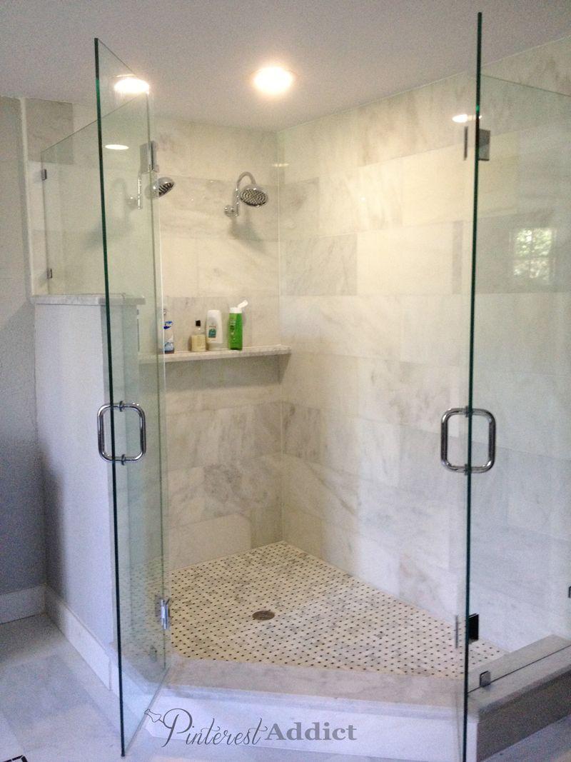 master bathroom reveal finally bathroom reno pinterest rh pinterest com