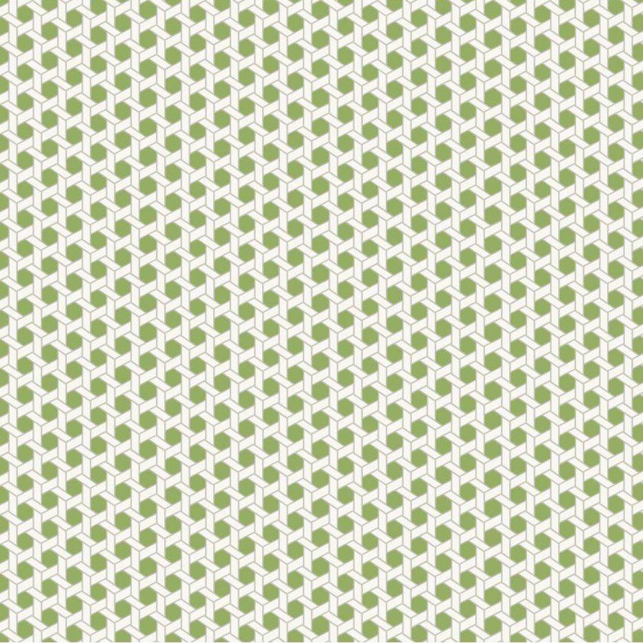 "Waverly Small Prints Shoji 27' x 27"" Geometric Wallpaper"