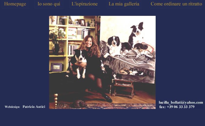 From my old website  Me and my family dogs