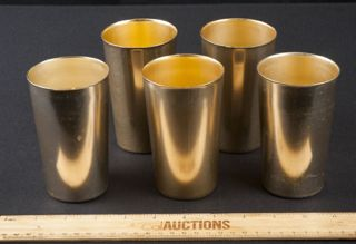 FUN VINTAGE SET BY LEMONADE GLASSES BY BASCAL, MADE IN ITALY.