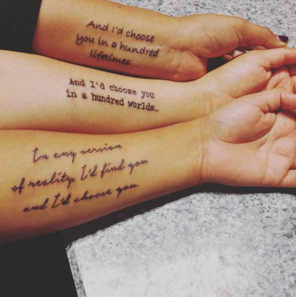 Cute And Meaningful Sister Tattoo Ideas That Celebrate Your Special ...