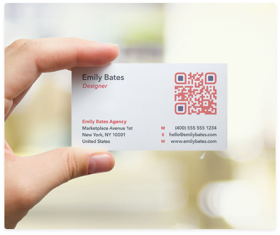 How to Use QR Codes on Business Cards QR Code Generator