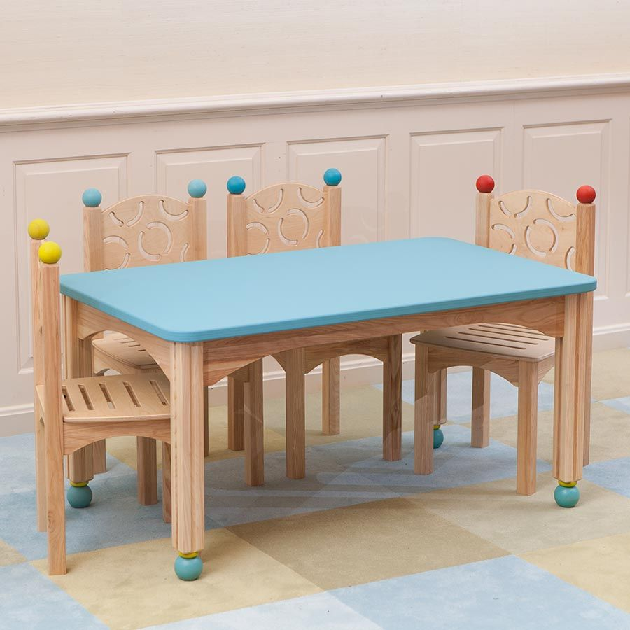 Perfect Kids Table Complete With A Blue Chalkboard Top From The CedarWorks  Rhapsody Collection. Made