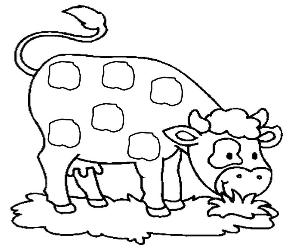 Booklet: Coloriage Vache à Imprimer Gratuit