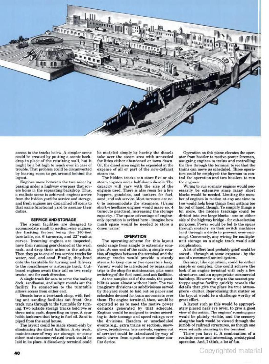 Top notch track plans | Model train, Newspaper and Crafts