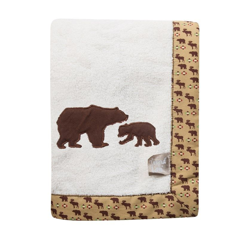 Northwoods - Blanket w/Applique