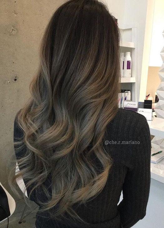 Smokey Ash Brunette Hairspray Pinterest Ash Brunette