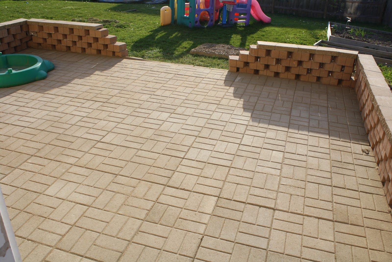 Beautiful 16x16 Patio Pavers   Emsco 16 X 16 Quot Sand Patio Paver .