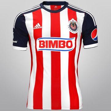 cd5cd8ccd Chivas Deportivo Guadalajara Adidas Home Shirt 2013 14