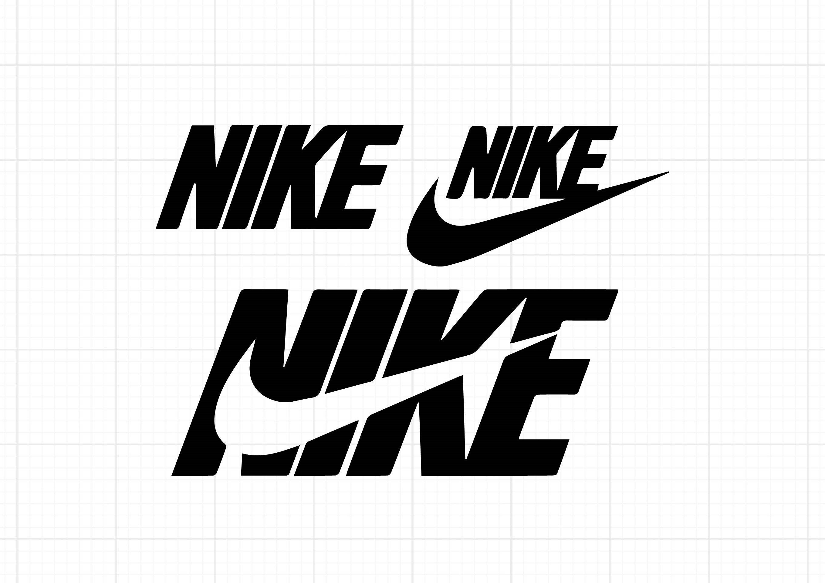 Nike logos SVG download in 2020 Svg downloads, Nike logo