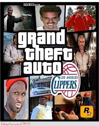 0a61c547d7ed6e38b20856743a75d20b gta clippers edition! weheartnyknicks com nba funny meme