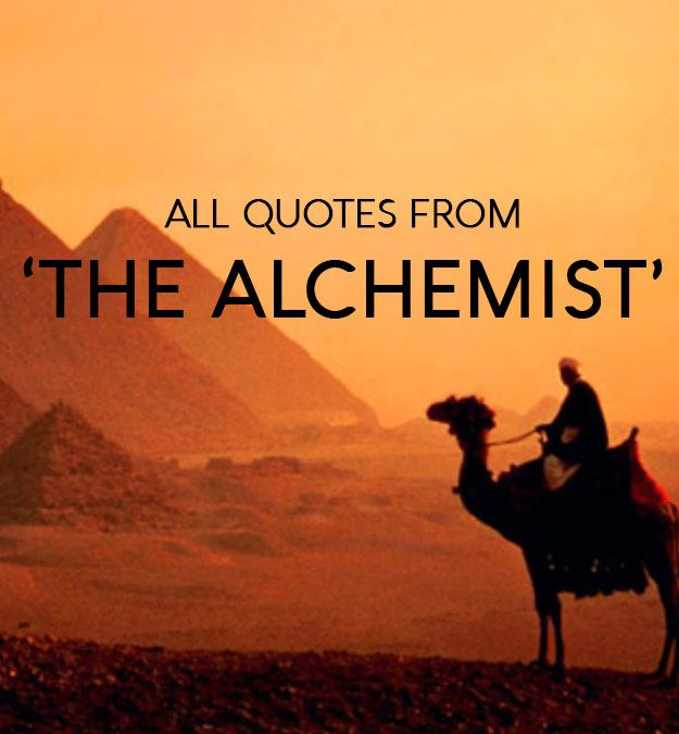 All Quotes from 'The Alchemist' (Paulo Coelho The