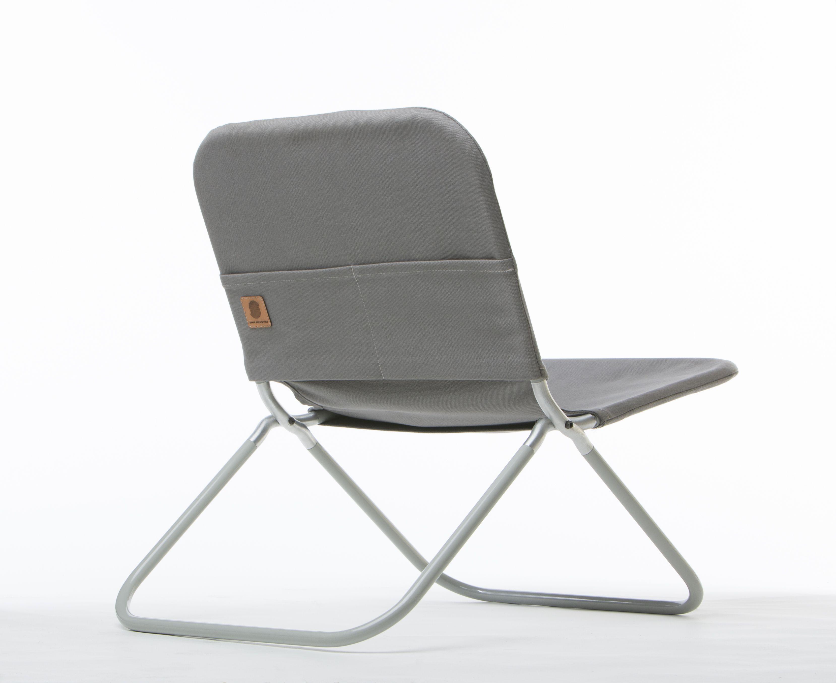 lightweight aluminum folding chair with a waxed canvas sling rh pinterest com