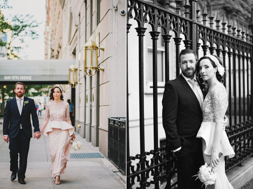 wedding ceremony new york city%0A New York City elopement photographer  Katie Jane  Specializing in intimate weddings  and engagements