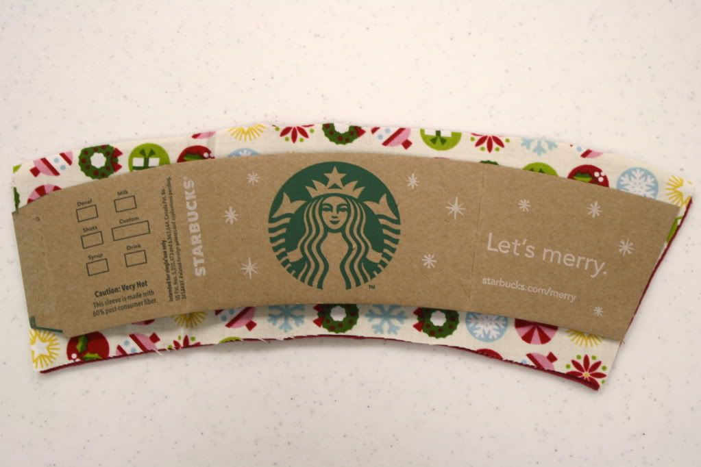 DIY COFFEE COZY PATTERNS FREE   Stack your felt & fabric and cut ...