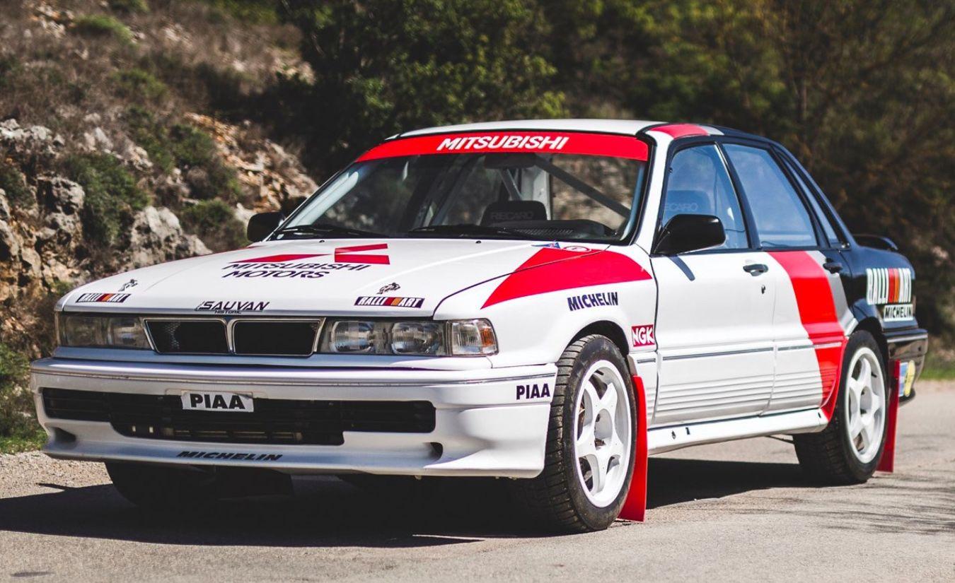 KIDNEY, ANYONE? Mitsubishi Galant VR4 Rallye Côte d